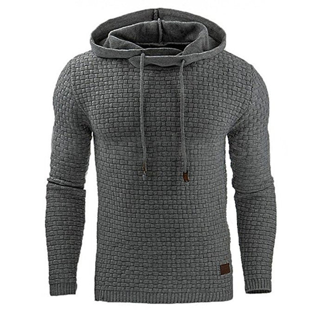 New Hip Hop Hoodies Hoodies & Sweatshirts Unisex color: Black|Dark Grey|Khaki|light grey|White