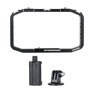 Image 5 - Universal DSLR Gopro Smartphone Handheld Video Rig Vertical Shooting Rig for iPhone XS 11 Pro Max X 8 Gopro 5 6 7 8  DSLR Camera