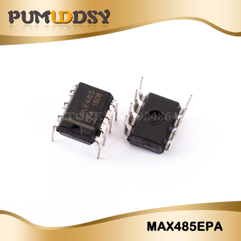 faible puissance d/'émetteur-récepteur 8 broches Qty = 2 MAXIM MAX485CPA