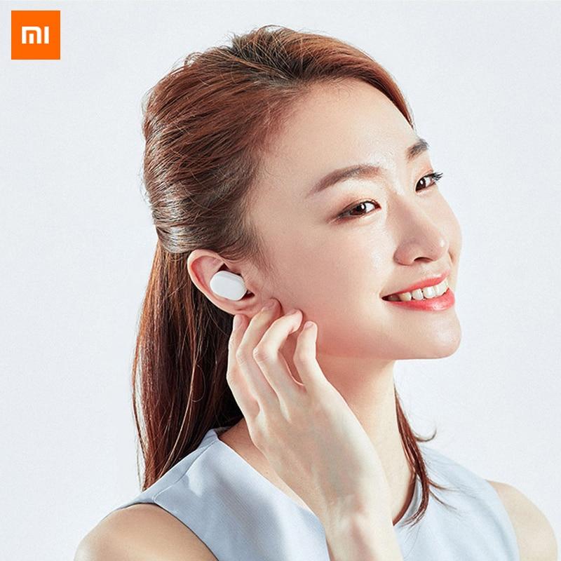 100% Original Xiaomi AirDots auricular Bluetooth juventud versión estéreo mi ni inalámbrico Bluetooth 5,0 auriculares con mi c auriculares - 4
