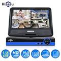 Hiseeu CCTV 4/8 CH 5IN1 1080N цифрового видео Регистраторы 10,1