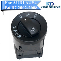 Car Fog Light Headlight Front Switch Control For AUDI A4 S4 B6 B7 QUATTRO 8E0941531A Replacement