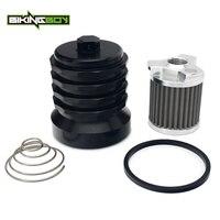 BIKINGBOY For Moto Guzzi 850 06 11 940 07 12 1000 94 01 V11`s 1100 94 12 1200 06 15 14 MGS 01 Corsa Reusable Oil Filter Cooler
