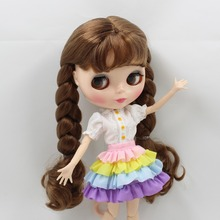 Neo Blythe Doll Rainbow Dress