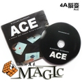 ACE (Cards and Instructions) by Richard Sanders / close-up stage street card magic tricks products wholesale free shipping