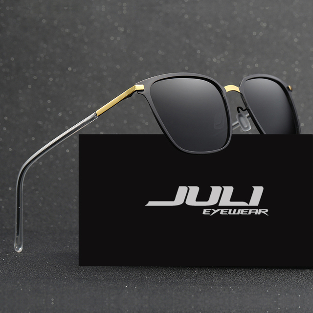 a7714b519e JULI Police Sunglasses Polarized Sunglasses Men Vintage Women Alloy Frame Glasses  Eyewear Accessories Driving Sun Glasses