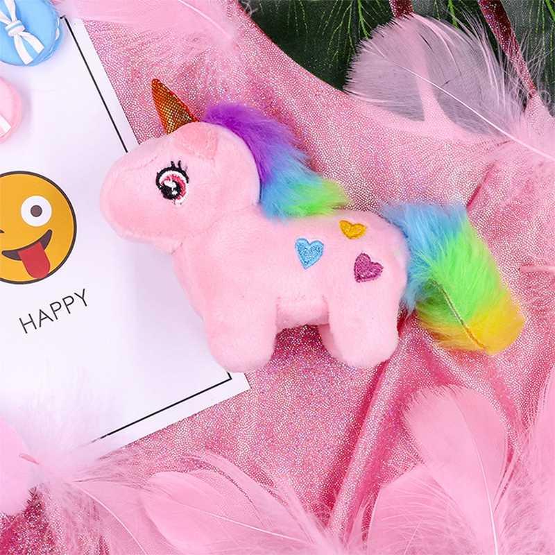Jednorożec pluszowe zwierząt Kawaii miękka lalka Peluche zabawki dla dzieci śliczne pluszowe jednorożce dla dzieci nadziewane pluszowe zwierząt miękkie zabawki prezenty