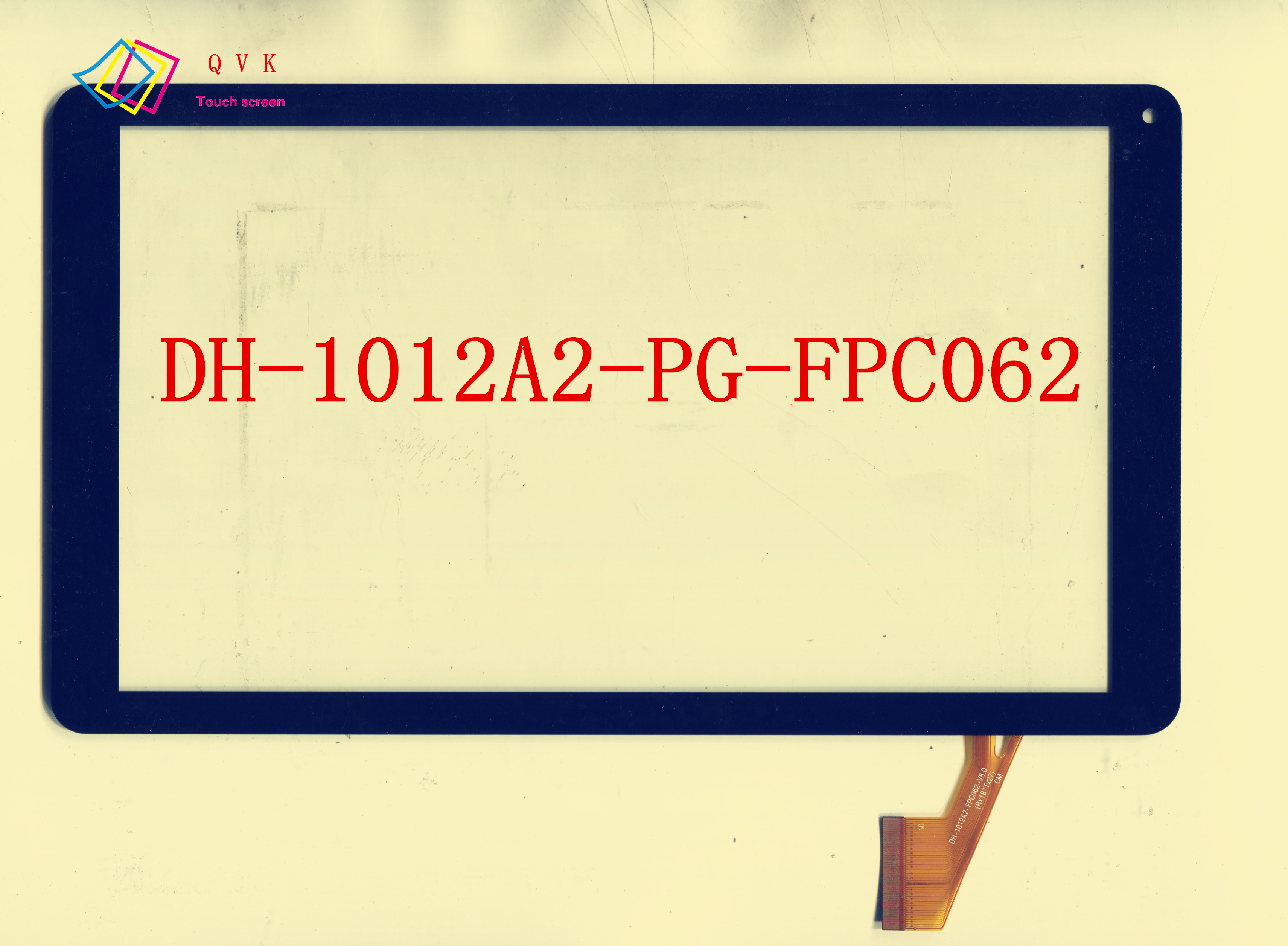 10.1 inch DH-1012A2-PG-FPC062-V5.0 for Supra M141 BRAVIS NB1 tablet PC touch screen panel digitizer glass sensor replacement