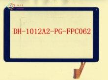 """10.1 """"pulgadas DH-1012A2-PG-FPC062-V5.0 para tablet PC de pantalla táctil digitalizador del sensor de cristal de reemplazo"""