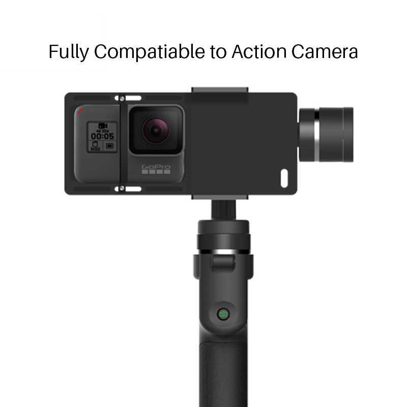 Ручной Стабилизатор телефона Funsnap Capture 3 Axis для iPhone Xs Max X samsung S10 Piexl Gopro Hero 7 6 5 Yi Sjam eken H9