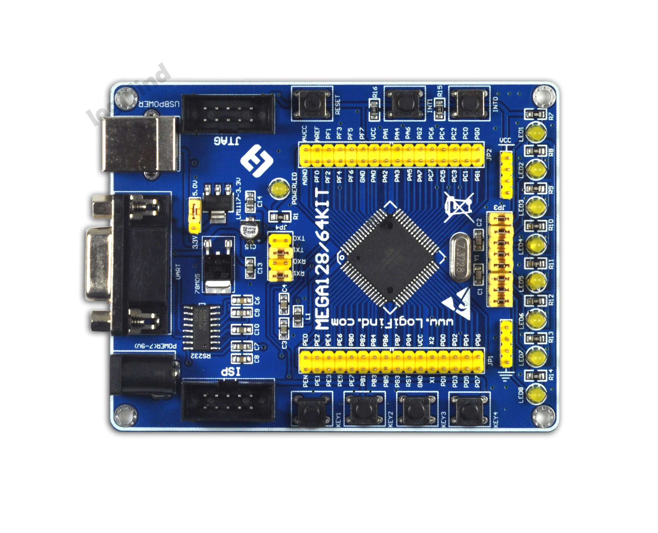 Avr Microcontroller Learning Development Board Atmega128 Basics Updated Using An Accelerometer With Experimental Avr128 Mini Pcb Empty In Counters From Tools On Alibaba