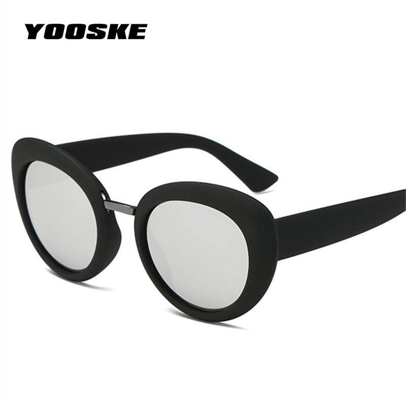 YOOSKE Kurt Cobain Sunglasses NIRVANA Women Men Clout Goggles Round ...