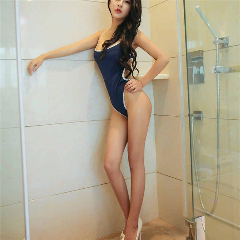 Hot Sexy Teddy ondergoed Backless Billen korsetten vrouwen Mode badmode bikini erotische lingerie Crotchless Bodysuit