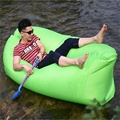 Summer 10 Second Fast Inflatable Air Bed Lazy Sofa Bag For Camping Beach Outdoor Garden Furniture Lounger Chair Office Sleep Bed