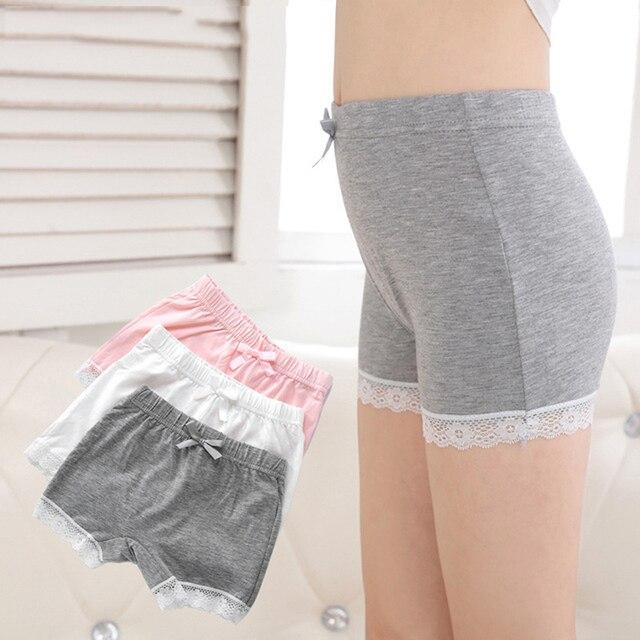 bf7452324e0c 3pcs/set Teen Panties Girl Underwear Girls Thong for Kids Panties For Teenage  Girls Cotton Underwear Children Lace 4-16Y