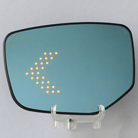 Prevent Mist Anti Glare Great Vision LED Multi Curvature Electric Heating Rearview Mirror Original Car Rearview