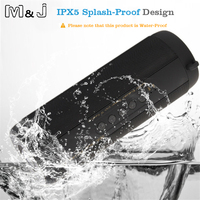 Super Bass Waterproof T2 Bluetooth Speaker Mini Portable Outdoor Wireless Column Loudspeakers Speakers FM For IPhone