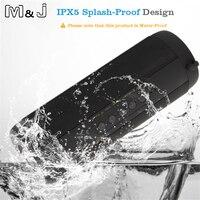 M & J T2 Ngoài Trời Không Thấm Nước Super Bass Bluetooth Speaker Mini Portable Wireless Cột Loa Loa cho iPhone Samsung