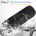 M & j t2 coluna impermeável ao ar livre super bass bluetooth speaker portátil mini sem fio alto-falantes para o iphone samsung