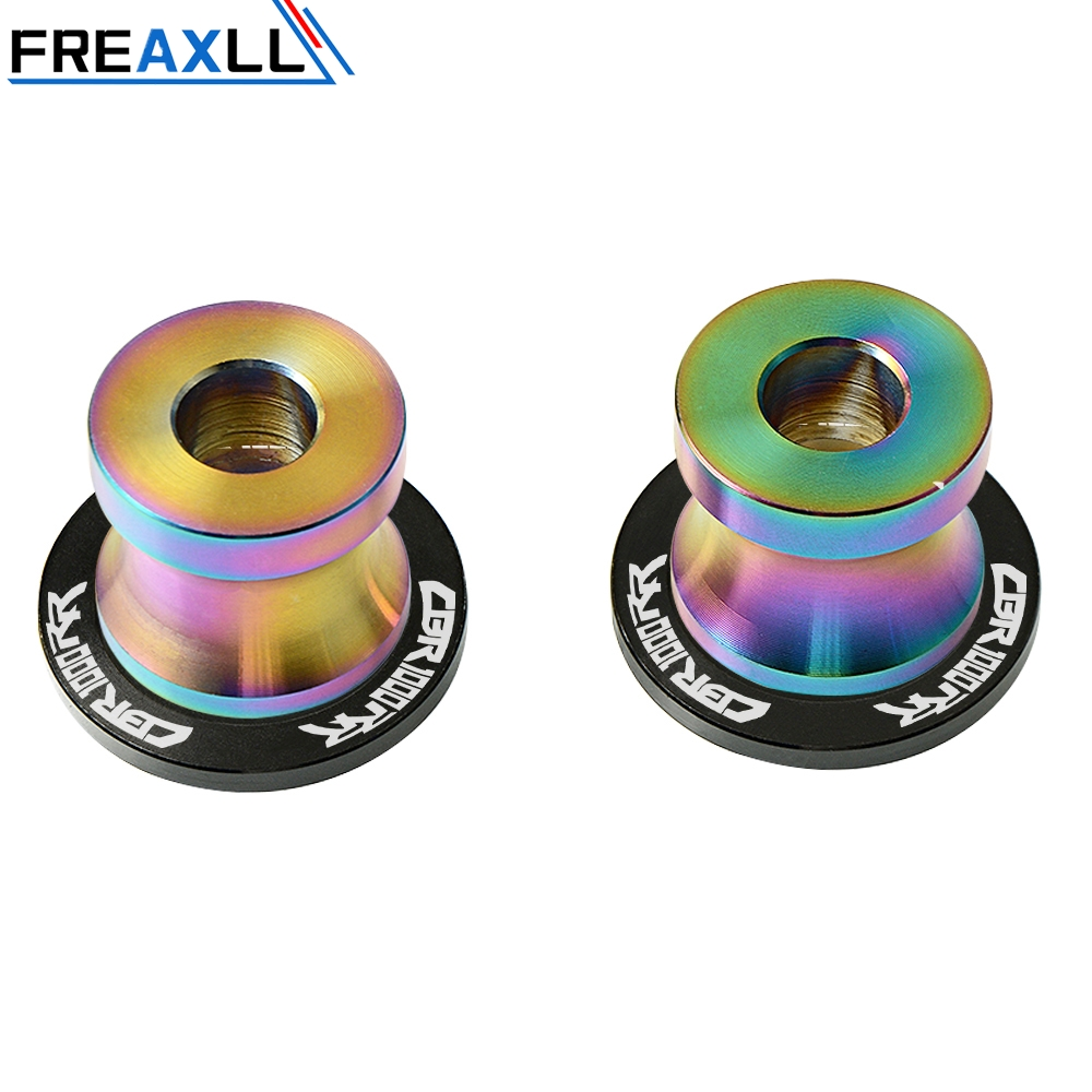 Motorcycle Swingarm Sliders Spools Paddock 8mm Stand Bobbins Swing Arm For Honda CBR1000RR CBR 1000RR 2004 2005 2006 2007 2011 in Covers Ornamental Mouldings from Automobiles Motorcycles