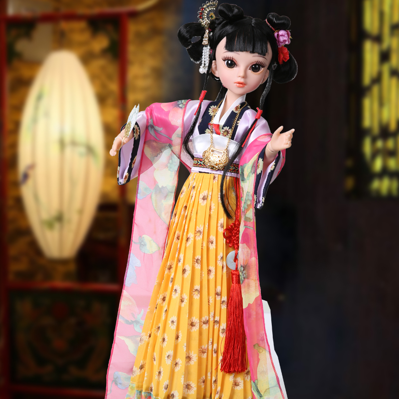 Princess Anna 1/3 60cm sd/bjd doll traditional chinese classic designed old cultural Twelve Ladies of Jinling eastern doll gift