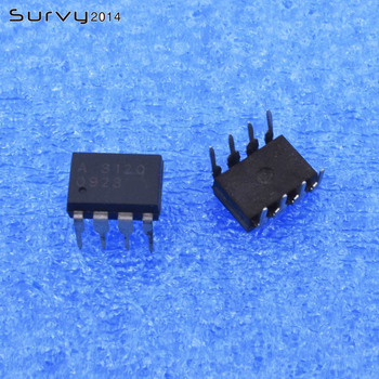 цена на 5PCS A3120 HCPL-3120 8PINS Logic output optocoupler 2.5 IGBT Gate Drive New original