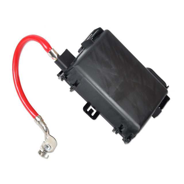 dwcx new black fuse box battery terminal 1j0937550a 1j0 937 550a for rh aliexpress com battery cable fuse block circuit breaker battery cable fuse block