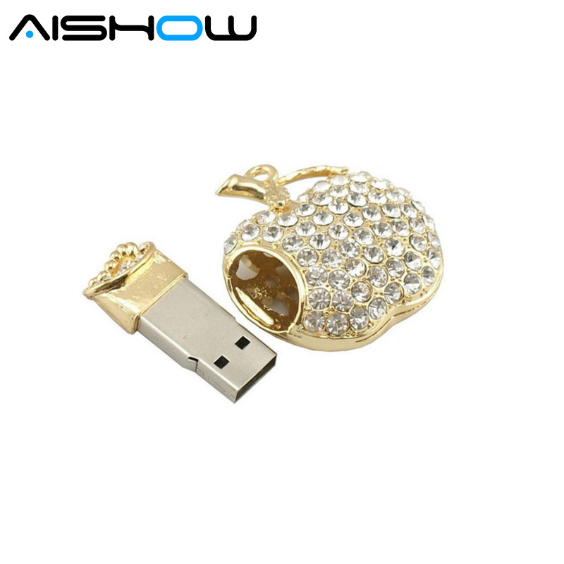 Pretty Diamond Cross Model USB 2.0 8GB-64GB flash drive memory stick pendrive