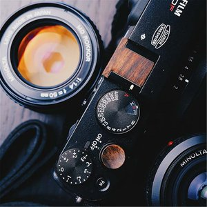Image 4 - Di legno Morbido pulsante di scatto O Slitta a Contatto Caldo Della Copertura Per Fuji XT3 FujiFilm X T3