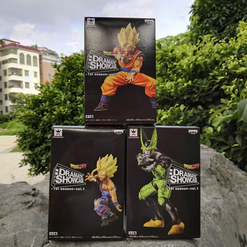 Anime Dragon Ball Z 3 unids / set Venta Caliente Dramático - Figuritas de juguete