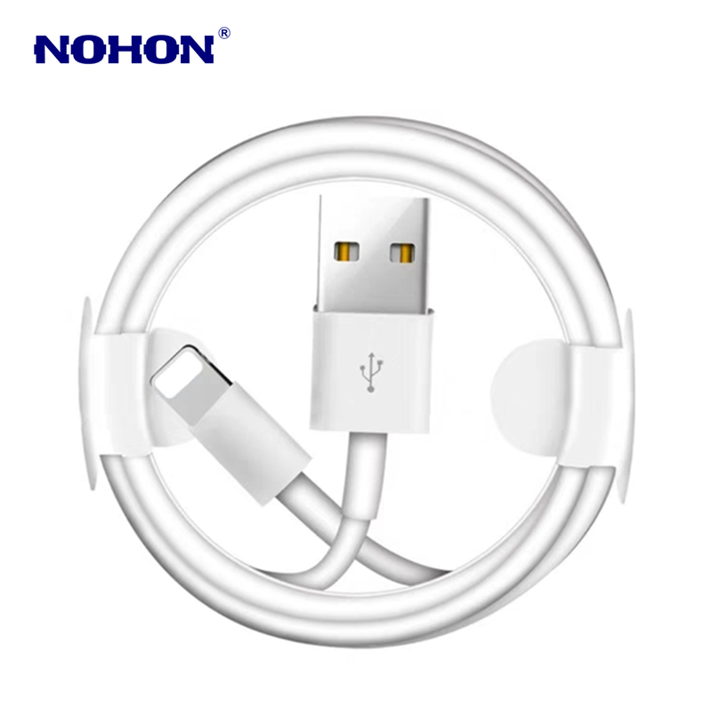 Image 5 - Kit 1M USB Cable+USB Fast Charger For iPhone X XS Max XR 5S 6 6S 7 8 Plus USB Charging Cable EU Plug Travel Wall Charger Adapter-in Mobile Phone Cables from Cellphones & Telecommunications