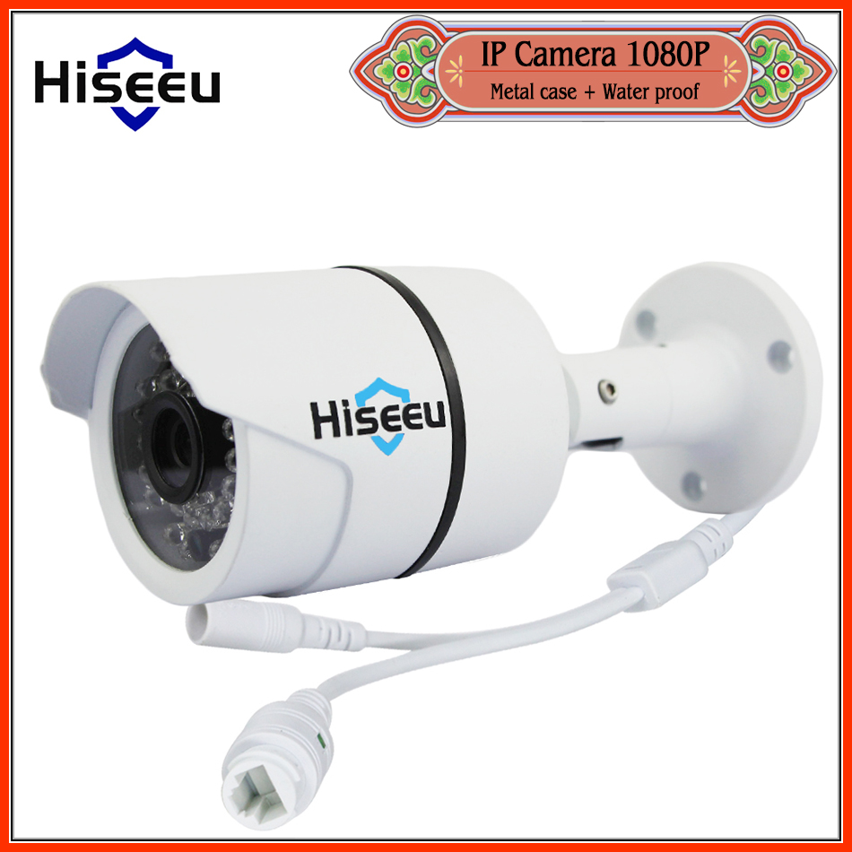 Hiseeu HD 1080P 2 0MP Mini Bullet WDR IP font b Camera b font ONVIF 2