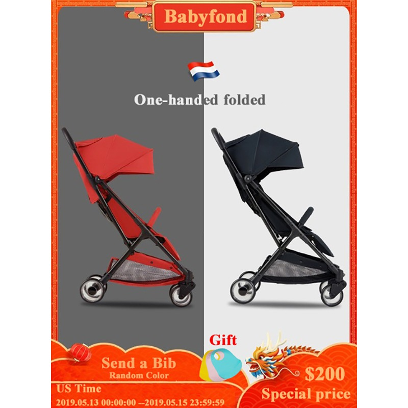 Baby stroller lightweight folding umbrella can sit reclining stroller portable newborn stroller baby strollerBaby stroller lightweight folding umbrella can sit reclining stroller portable newborn stroller baby stroller