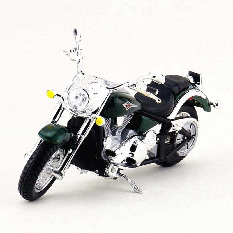 Maisto 1:18 Kawasaki Motorcycle Toy, Die Cast & Alloy Motorbike, Emulation Vulcan Motor Car Model, Toys For Children, Brinquedos maisto 1952 citroen 15cv 6 cyl 1 18 scale car model alloy toys diecasts