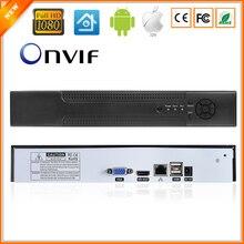 Детектор движения ONVIF CCTV NVR для ip-камеры Full 1080P H.264 HDMI выход 8CH(4CH опционально) система наблюдения NVR 4 канала