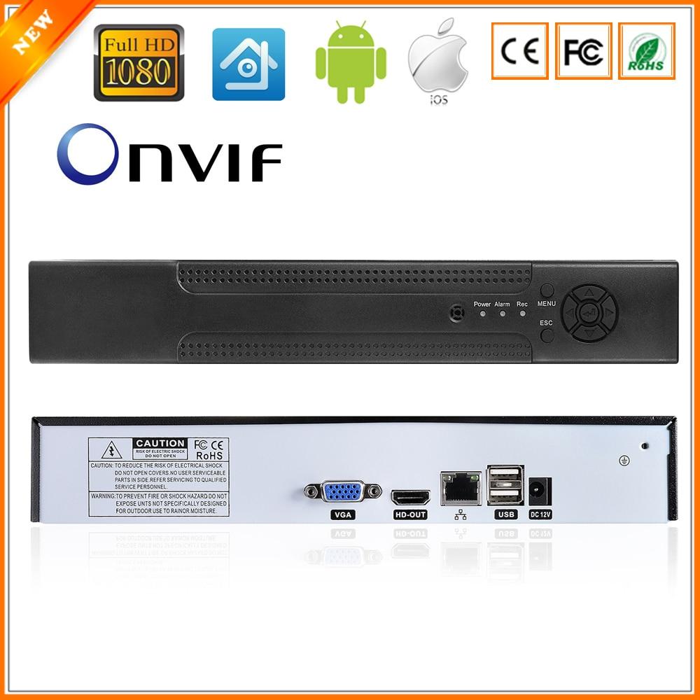 Bewegingsdetectie ONVIF CCTV NVR voor IP Camera Volledige 1080 P H.264 Hdmi uitgang 8CH (4CH optioneel) Surveillance Systeem NVR 4 Channel-in Bewakingsvideorecorder van Veiligheid en bescherming op AliExpress - 11.11_Dubbel 11Vrijgezellendag 1