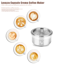 Lavazza Reusable Coffee Capsulas Stainless Steel Refillable Coffee Filter Capsules Cup Dripper For Lavazza Espresso Point Machin
