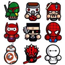 New cartoon creation Marvel Heroes refrigerator magnet stickers toys Big white Captain Jack Spiderman