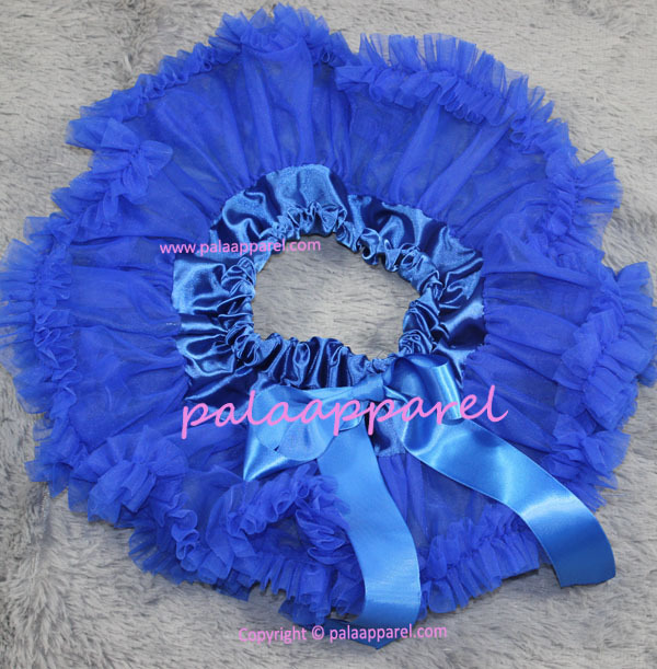 Новорожденный фотографии реквизит ребенка юбка для девочек юбки Pettiskirts шифоновое летнее одежда для малышей - Цвет: Синий
