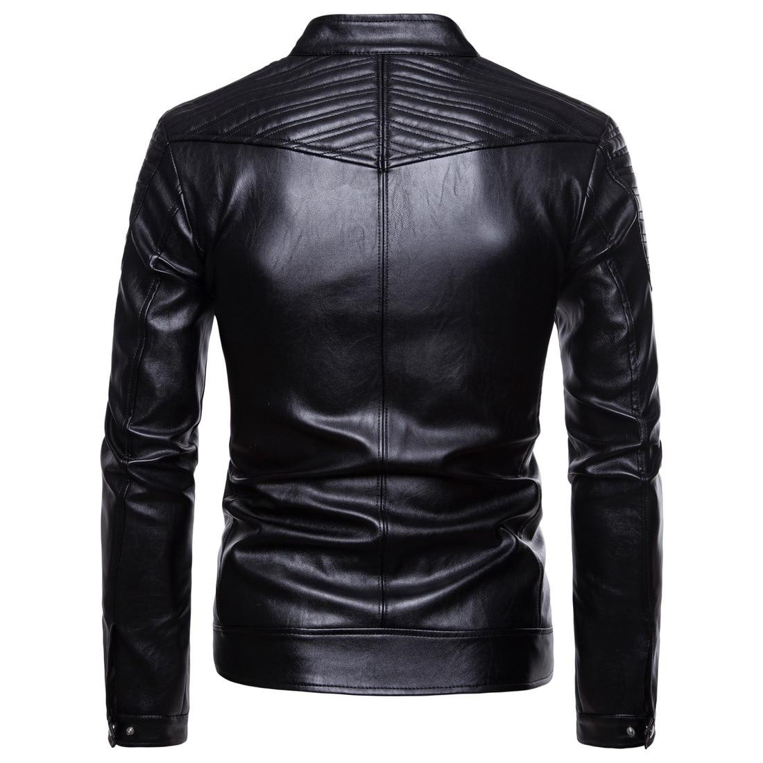 En Vêtements De 18new Grande Asian Black Veste Manteau Size Cuir Hommes Vestes Fourrure Pour Taille Moto Casual w5RqFXqx