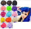 2014 Colorful Bangs new arrival colorful synthetic curl cosplay bang hair piece Bangs free,shipping