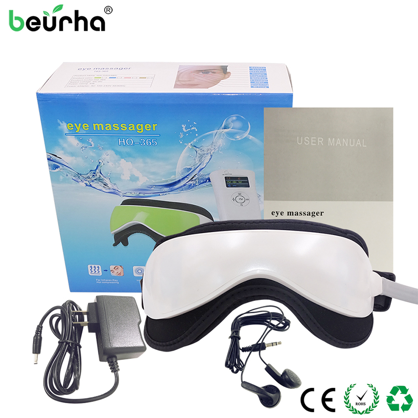 Electric DC Vibration Eye Massage Device Timing Display Eye Machine Music Magnetic Air Pressure Infrared Heating
