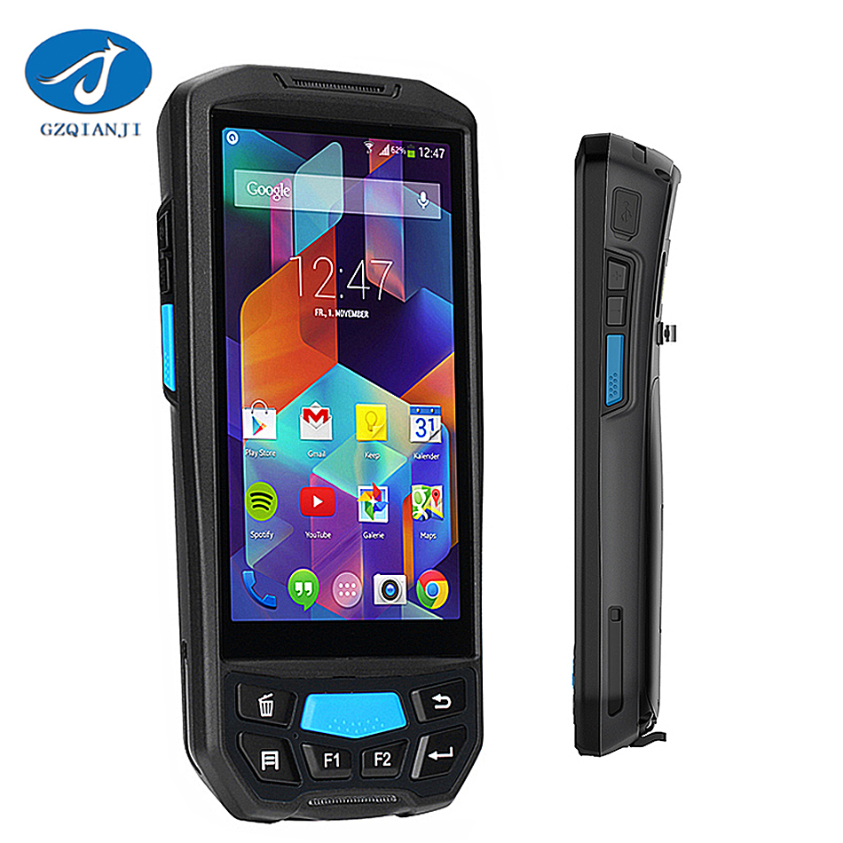 GZPDA02 Industrial Portable Android 1D/2D Barcode Scanner Handheld Android PDA Wireless Data Collector Terminal Wifi/Bluetooth