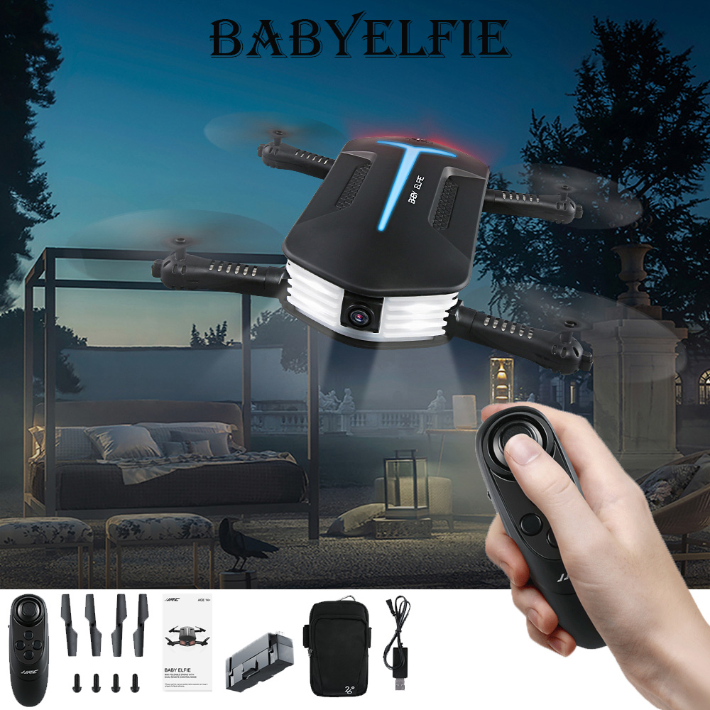 Jjrc Update H37 Mini Baby Elfie Rc Selfie Drone With Hd Fpv Quadcopter Drone Pocket Foldable Rc Drones Helicopter Vs H36 H31 H37 Drone With Hd Drone Withrc Drone Aliexpress