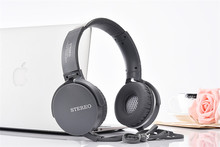 Fashionable Style Adjustable 3.5mm Extra Bass Headphone with MIC Wired Stereo Headset For xiaomi iphone samsung Cellphone USURE