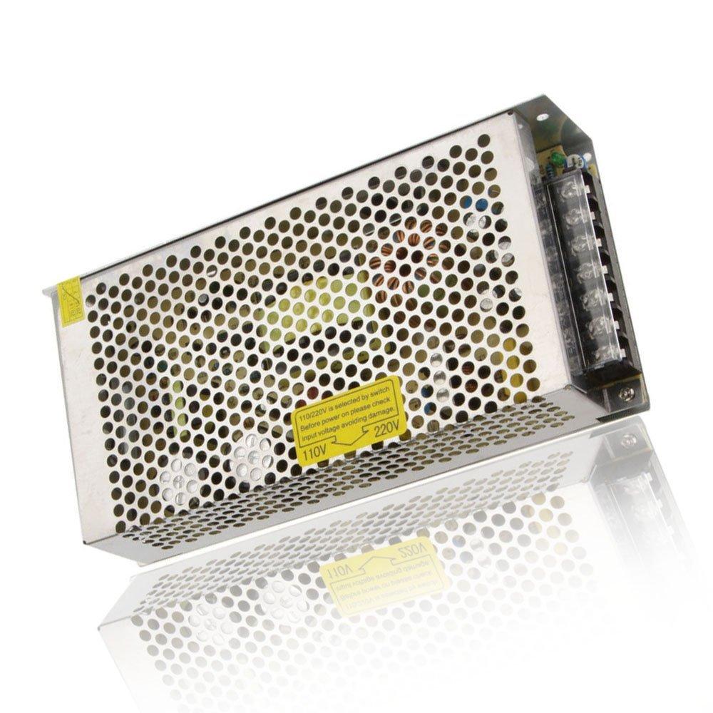 JOYLIT 360W Transformador de Voltage Alimentaci/ón de Interruptor AC 220V a 12V DC 30A Fuente de Alimentaci/ón para Tira de LED