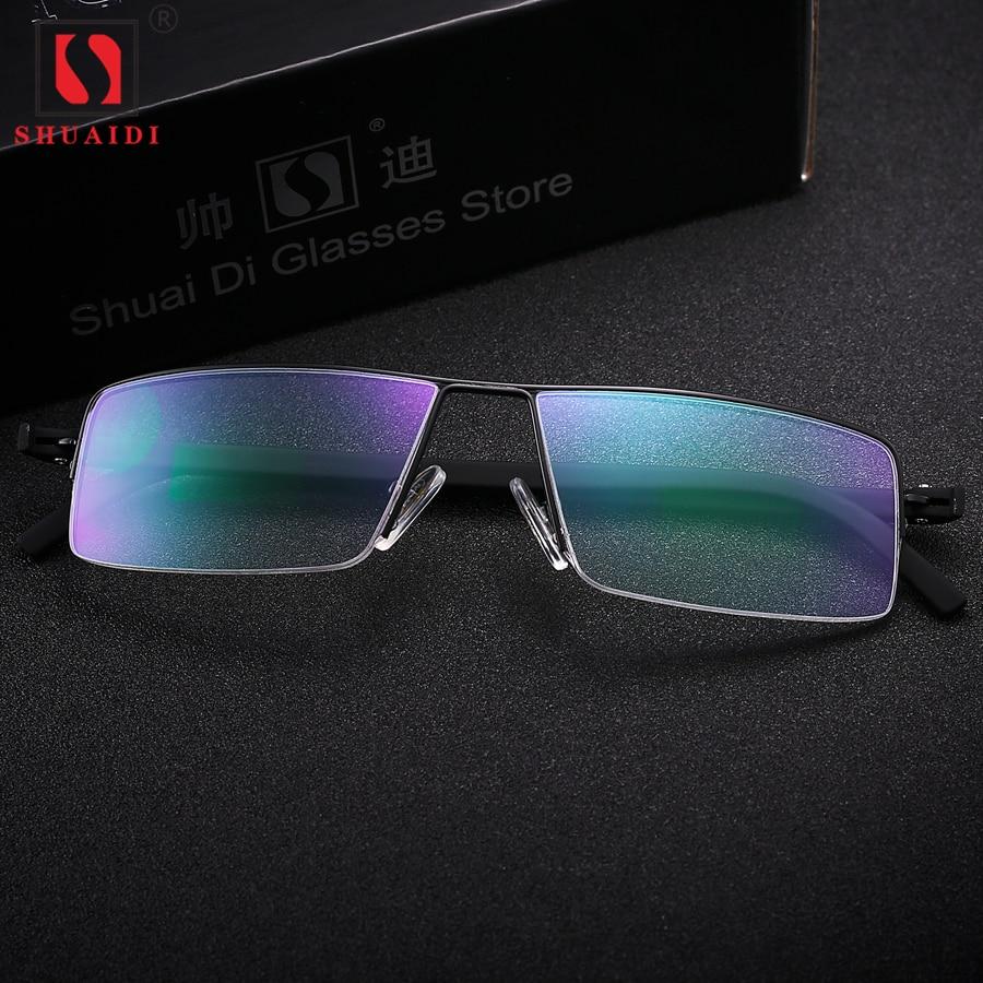 Black Metal Frame Resin Lenses Anti-fatigue Men Reading Glasses Male Reader Eyewear+1.00 1.50 2.00 2.50 3.00 3.50 4.00 Diopter