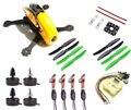 Robocat 270 fibra de carbono quadcopter quadro 2204 2300kv motor emax 12a esc cc3d evo controle de vôo 5030 adereços para fpv Quadcopter