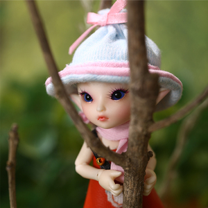 Image 2 - Boneca bjd 1/13, freeshipping, fadas, fl realpuki, roro, brinquedos para menina, boneca articulada
