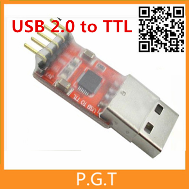 1Pcs free shipping CP2102 USB 2.0 to TTL UART Module 6Pin Serial Converter STC Replace FT232 Module